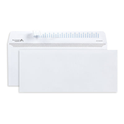 #10 Windowless Security Envelopes, Self Seal, 500 Count Envelopes Blue Summit Supplies