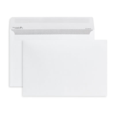 "Security Booklet Envelopes, 6"" x 9"", White Paper, 250 Count"