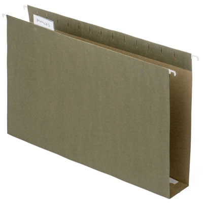 "Hanging File Folders with 2"" Expansion, Legal Size, 25 Pack Folders Blue Summit Supplies"