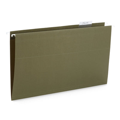 Hanging File Folders, Legal Size, 50 Pack Folders Blue Summit Supplies
