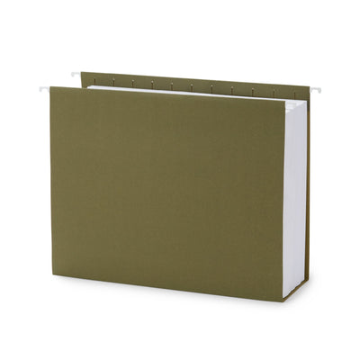 "3"" Expansion Hanging File Folders, Letter Size, 25 Pack"
