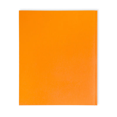 Two Pocket Folders with Prongs, Orange, 25 Pack Folders Blue Summit Supplies