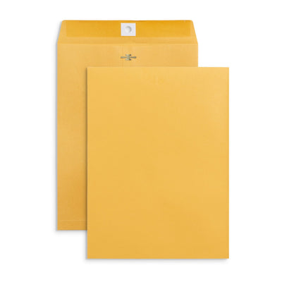 "Clasp Envelopes, 9"" x 12"", Kraft Paper, 100 Pack Envelopes Blue Summit Supplies"