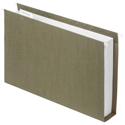 "2"" Hanging File Folders, Legal Size, 25 Pack"