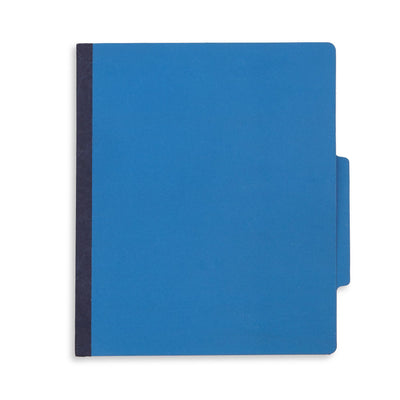 Classification Folders with 1 Divider, Letter Size, Dark Blue, 10 Count Folders Blue Summit Supplies