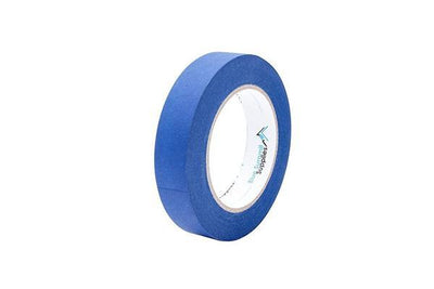 Blue Painters Tape, 0.94'' wide, 6 Pack Tape Blue Summit Supplies