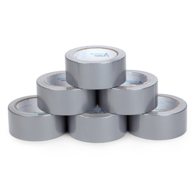 Heavy Duty Duct Tape, 6 Pack Tape Blue Summit Supplies