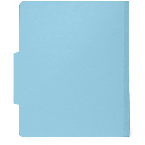 Classification Folders With 2 Dividers Light Blue 30