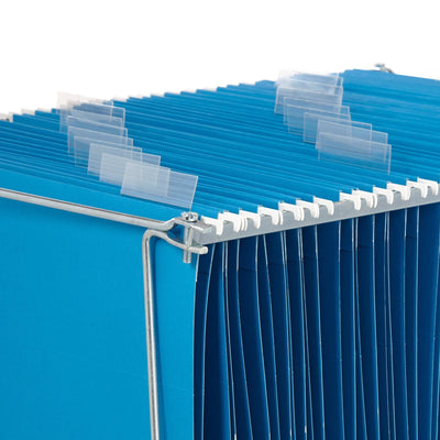 Hanging File Bars, Letter Size, 2 Pack Hanging File Bars Blue Summit Supplies