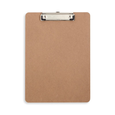 Hardboard Clipboards, Low Profile Clip, 6 Pack Clipboards Blue Summit Supplies
