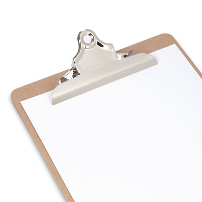 Hardboard Clipboards, Standard Clip, 6 Pack Clipboards Blue Summit Supplies