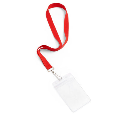 Lanyards with ID Holder, Assorted Colors, 12 Count