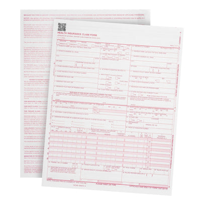 CMS-1500 Claim Forms, 02/2012 Version, 500 Count