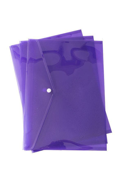 Poly Envelopes, Letter Size, Multicolor, 24 Pack Envelopes Blue Summit Supplies