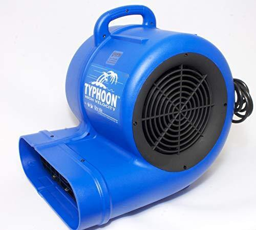 Golden Protective Services Outlet Typhoon Hi Velocity Air Blower, 3 Speed Air Mover