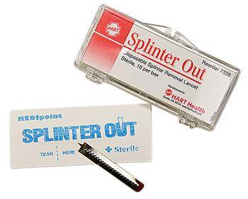 Splinter Out, Splinter Removal,  10 Per Box