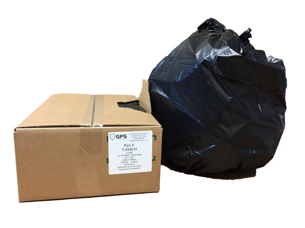 12-16 Gallon Trash Bags, 24