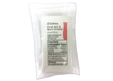 First Aid & Burn Cream Packets, 6 Per Pack, Antiseptic & Topical