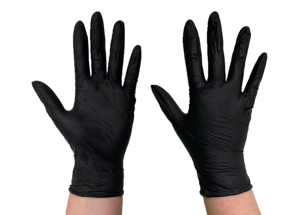 The Diesel Standard Powder Free Nitrile Disposable Gloves, 3.5 Mil, 100 Gloves Per Box, Sizes M-XXL