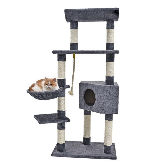 Bon ... Cat Climbing Tree  Door Hanging Cat Condo Img 08
