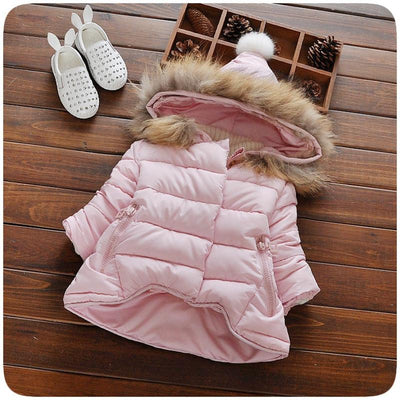Baby Girls Hooded Down Coat