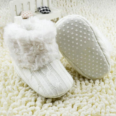 Knitted Winter Booties