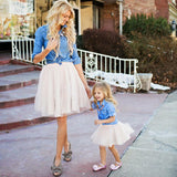 Mommy and Me Denim Dress (Mommy's)