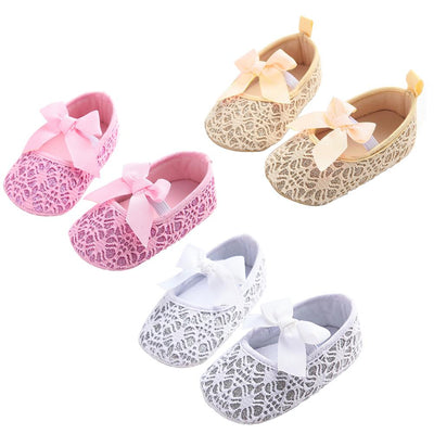 Princess Bow Lace Shoes