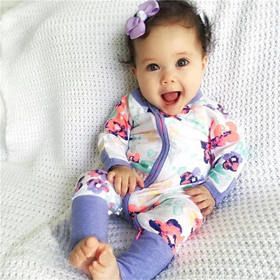 Adorable Baby Girl Jumpsuits