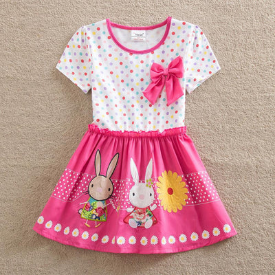 Rabbit & Bow Dress