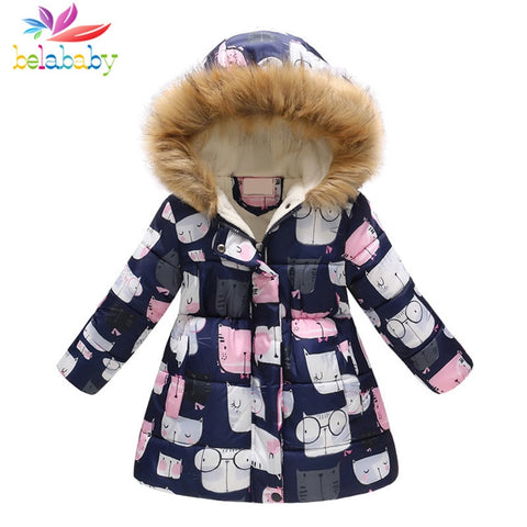 Baby's Fur Winter Coat