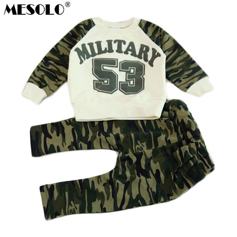 Little Man's Camouflage Military Set
