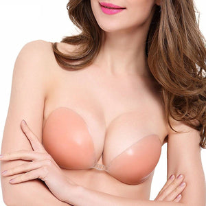CleavageClasp®  Backless, Strapless, Push-up, Stick-on Bra - ShopCleavageCouture