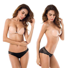 CleavageClasp®  Backless, Strapless, Push-up, Stick-on Bra
