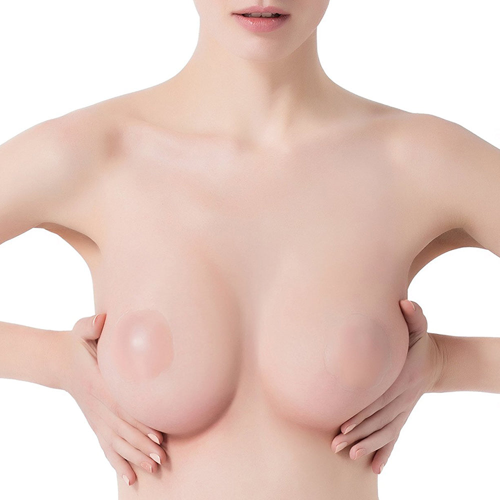 Reusable Adhesive Silicone Nipple Covers
