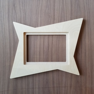 Unfinished Atomic Picture Frame - Atomic Walnut