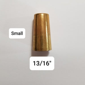 Brass Caps for Table Legs - Brass Ferrules