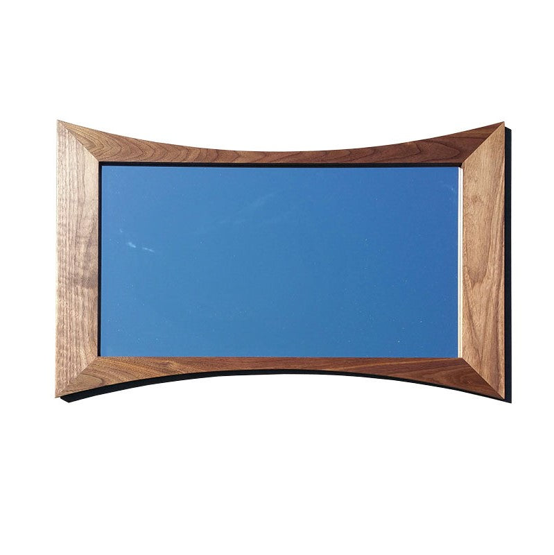 Hour Glass Danish Modern Picture Frame - Atomic Walnut