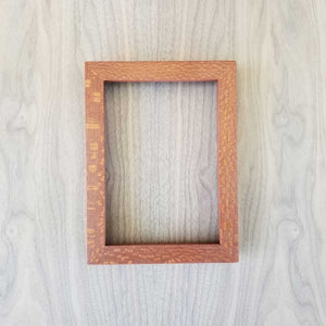 Thin Rail Picture Frames - Exotic Hardwood
