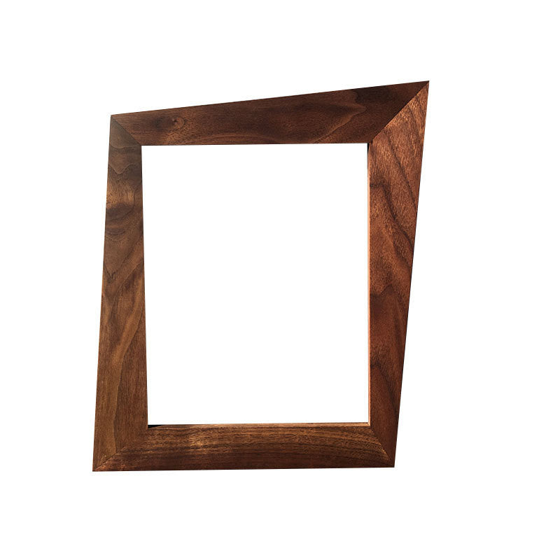 Trapezoid Mid Century Picture Frame