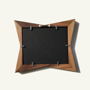 Retro Star Picture Frame - Atomic Walnut