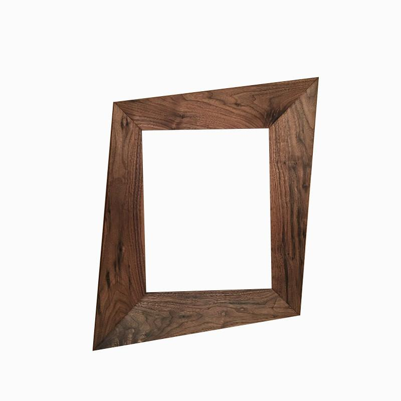 Forced Perspective Trapezoid Picture Frame