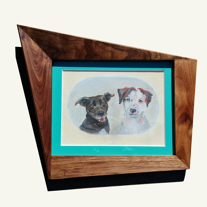 Cat Eye Picture Frame