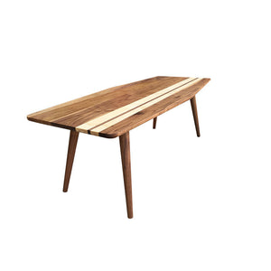 Surfboard Coffee Table - Atomic Walnut