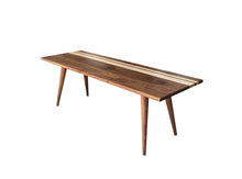 Striped Mid Century Modern Coffee Table - Everything Modern