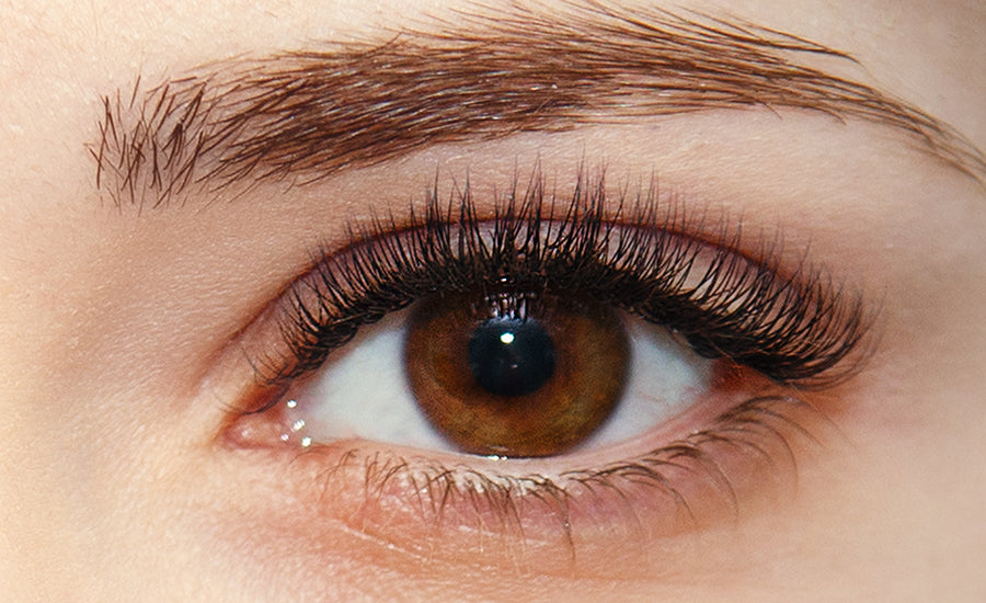 Baby-doll eyelash extension style