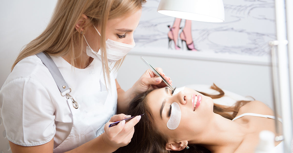 What does it take to become an eyelash extension tech