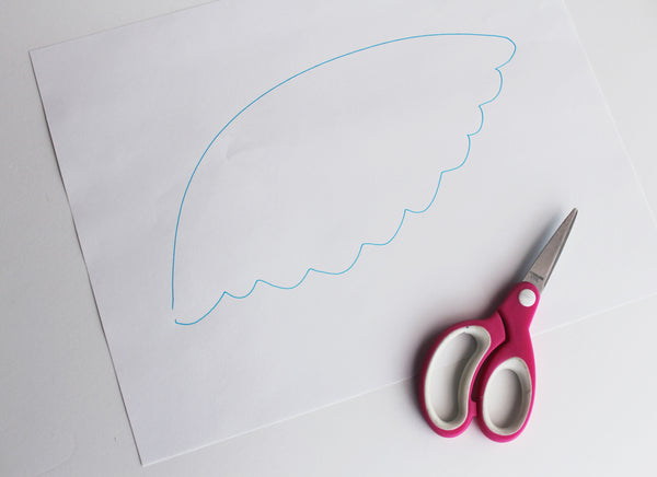 easy Castiel halloween angel wing costume tutorial