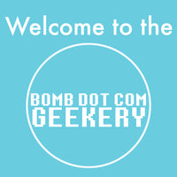 welcome to the bomb dot com geekery shop
