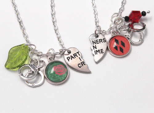 Harley and Ivy Best Friends Necklace Set